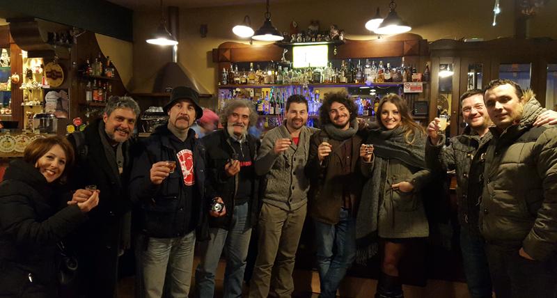 Recensione ristorante La Civetta: il gruppo Gilera