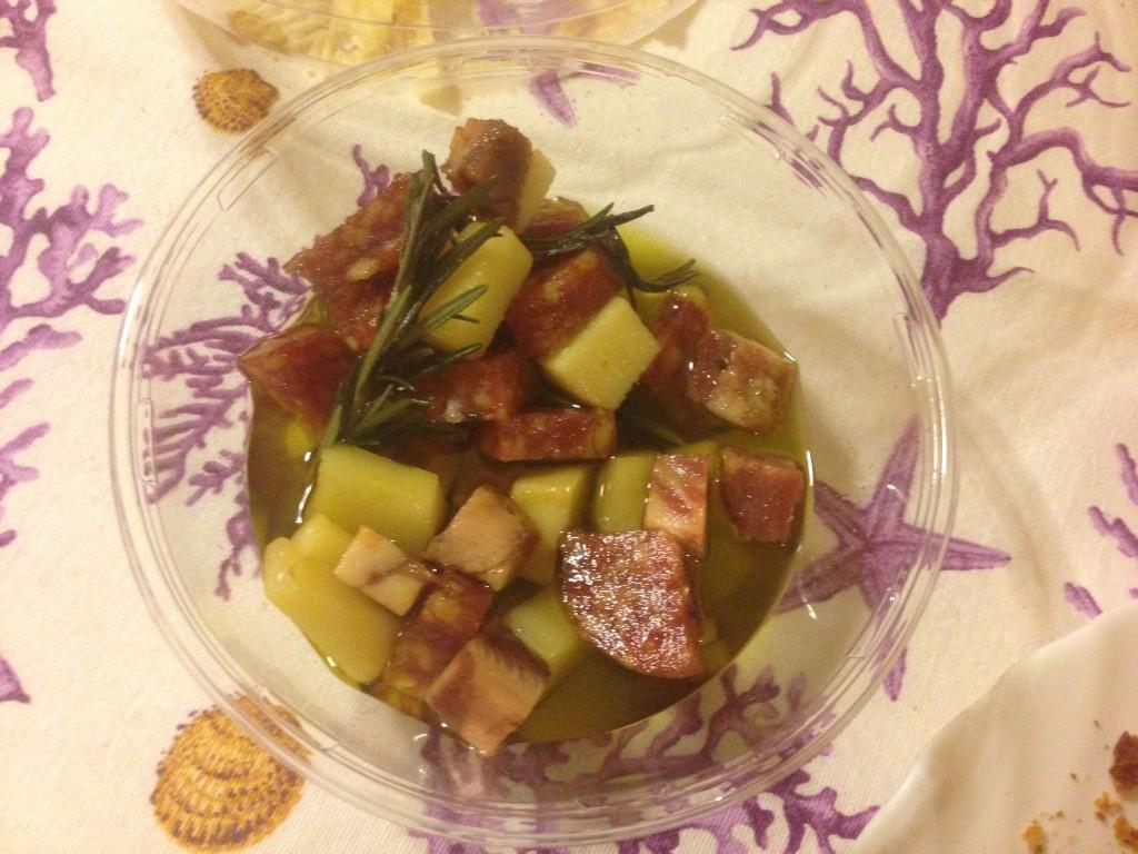Salame, Soppressatae e Formaggio sott'Olio alla Sergio